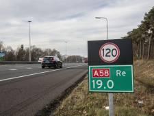 A58 weer open richting Eindhoven na ongeval bij Moergestel
