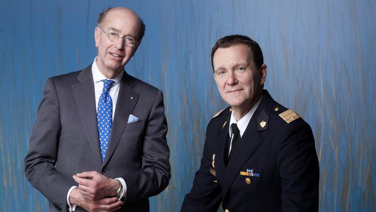 Bas Eenhoorn en Leen Schaap. Beeld Mark van der Zouw