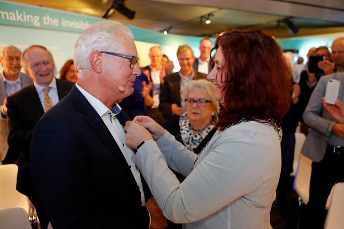 Koninklijke onderscheiding voor huisarts Maarten Klomp.