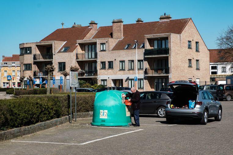 Borsbeek in lockdown. Jozef Reusenslei.