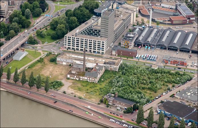 De voormalige Coberco-fabriek in Arnhem (archieffoto).