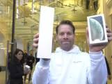 Bas mist verjaardag zoontje voor nieuwe iPhone XS