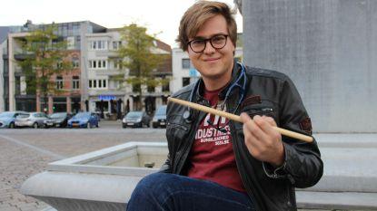 Henri Van Overmeire wint muziekprijs Gentse faculteit geneeskunde: Hoe hij 's ochtends drumt en de rest van de dag het menselijk lichaam bestudeert