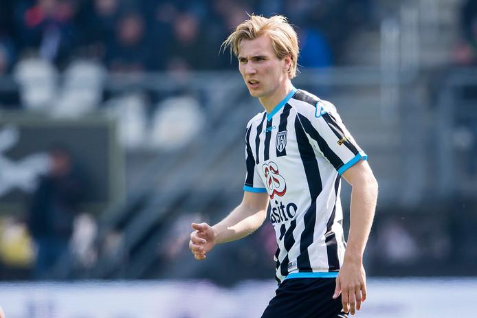 Vincent Vermeij, hier op archiefbeeld, was goed voor zes doelpunten tegen Jong Achilles.