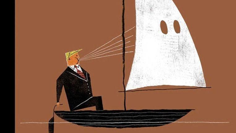 Cover van The New Yorker. Beeld RV