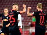Leipzig na doelpuntrijk duel in Keulen weer op plek drie
