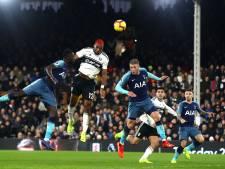 Spurs met schrik vrij bij Fulham dankzij late treffer Winks