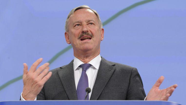 Vicepresident van de Europese Commissie, Siim Kallas.