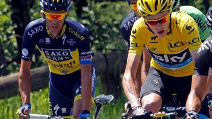 """Contador gelooft nog in vijfde Tourzege Chris Froome: """"Deze hele situatie kan in zijn voordeel spelen"""""""