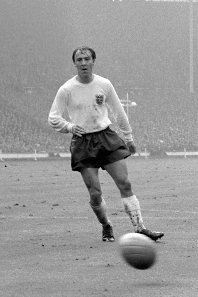 Jimmy Greaves als international in 1965.
