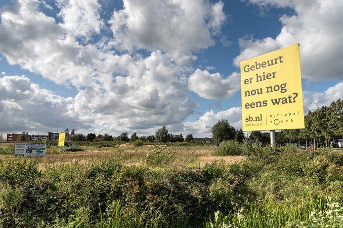 Braakliggend Terrein kruising Laan van Duurzaamheid en Rondweg-Noord
