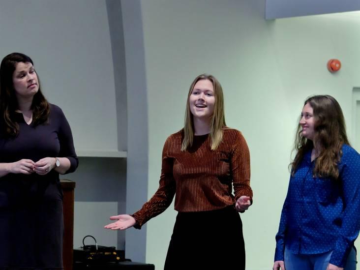 Verslaggever Robin bemachtigt plekje in het koor van The Passion