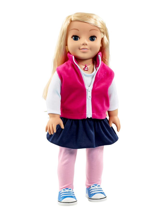 Speelgoedpop Cayla.