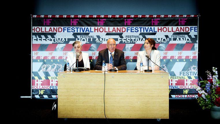 Artistiek directeur van het Holland Festival Ruth Mackenzie (L). Beeld anp