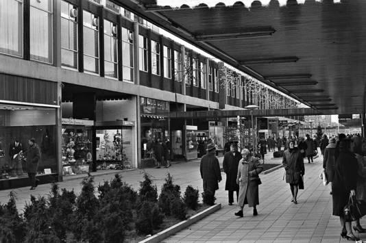 De Lijnbaan in de jaren vijftig