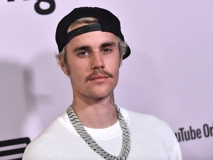"""Justin Bieber à la soirée de lancement de la série """"Seasons"""", à Los Angeles, le 27 janvier 2020."""