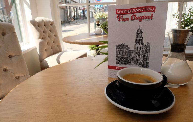 Koffie van Van Ouytsel.