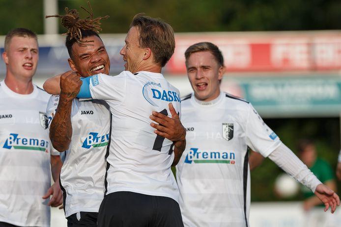 Berkum versloeg Noordscheschut zonder problemen: 5-0.