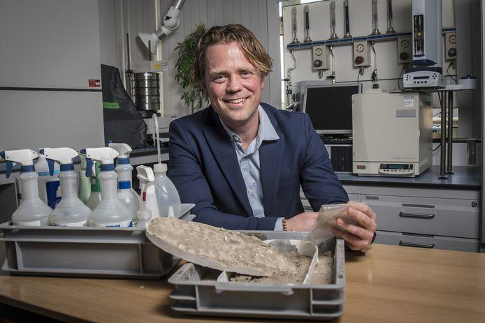 Enschede 20180419 Jaap Knotter  lector Advanced Forensic Technologie editie:Enschede Foto Reinier van Willigen