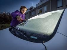 Brrr! Bijna 10 graden vorst in Achterhoek en Twente