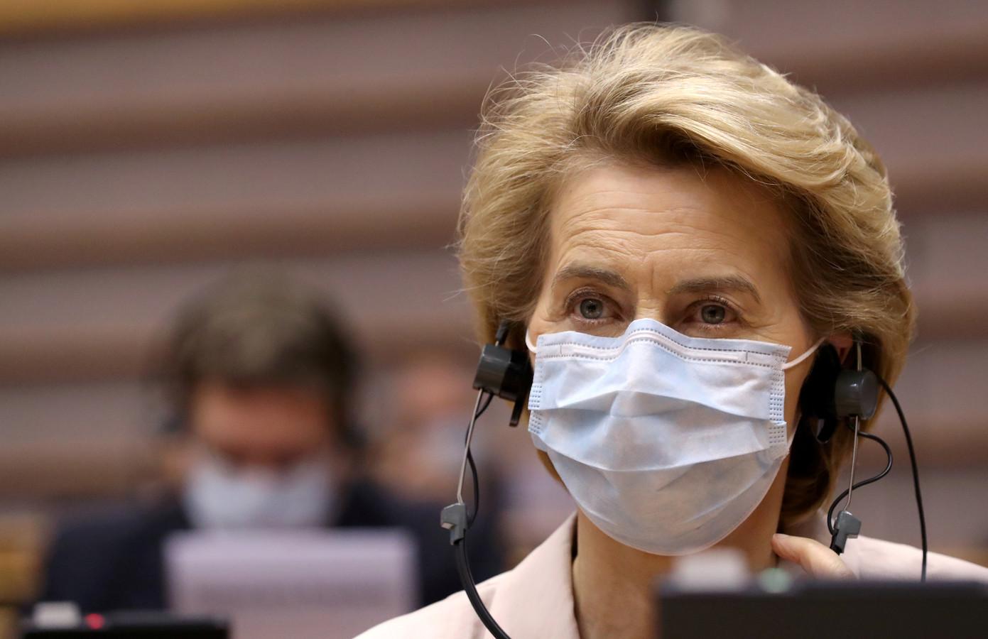 Europese Commissie-voorzitter Ursula von der Leyen.