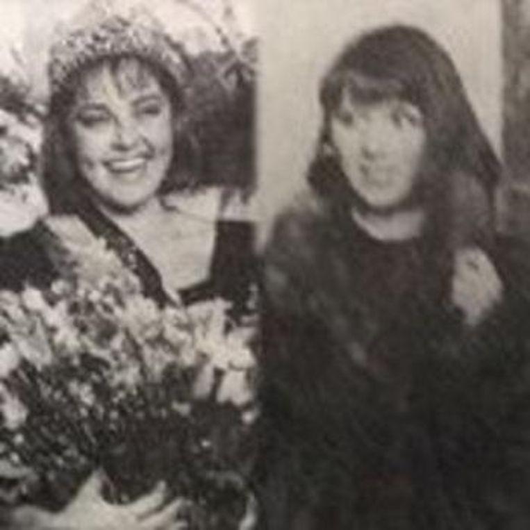 Rani (links) en Sandra (rechts)