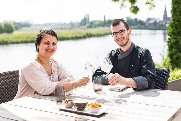 Charlotte Rasschaert en Nick Van Rysselberghe van The Bayou in Wichelen.