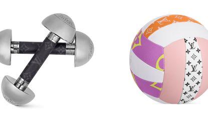 Sportief en een beetje geld teveel? Louis Vuitton verkoopt gewichtjes en volleyballen van 1.850 euro
