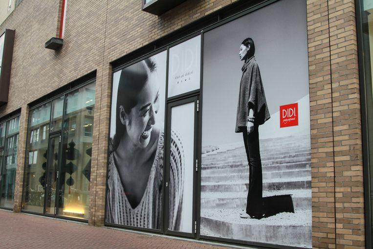 Exterieur van een winkel van Didi.  Beeld ANP