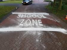 Aannemer over foute 'shcoolzone': We kunnen er nu wel weer om lachen