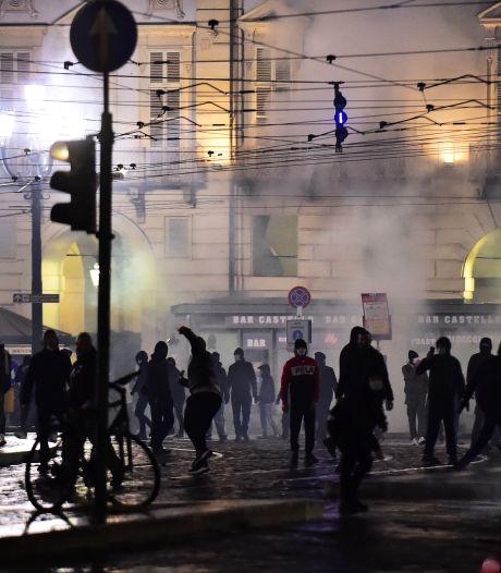 Coronaprotesten in Italië escaleren: fotograaf gewond, tien arrestaties