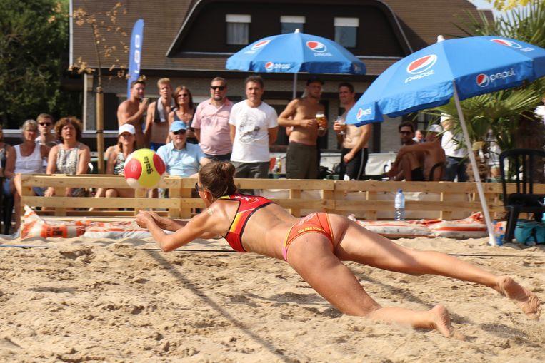 Sfeerbeeld van de meest recente editie van het beachvolley in Menen