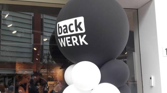 Ballonnen bij de opening van backWerk in Arnhem.