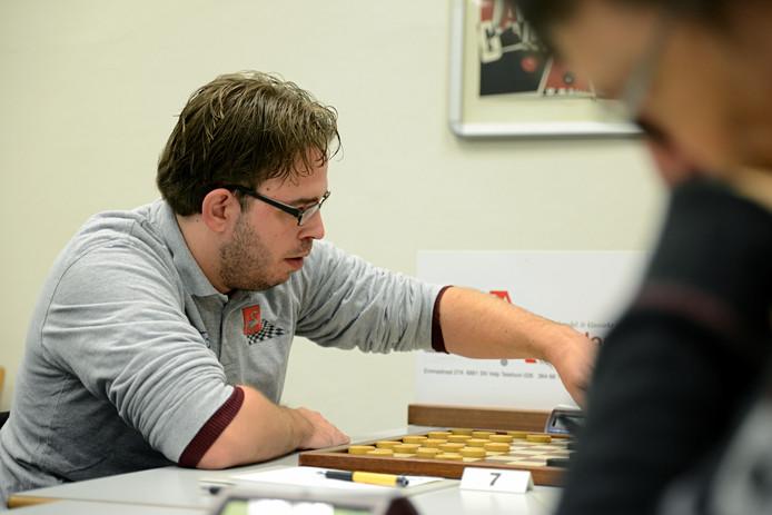 Rik Keurentjes op archiefbeeld. De trainer van WSDV was zeer tevreden ondanks de 9-11 nederlaag tegen landskampioen DTC.