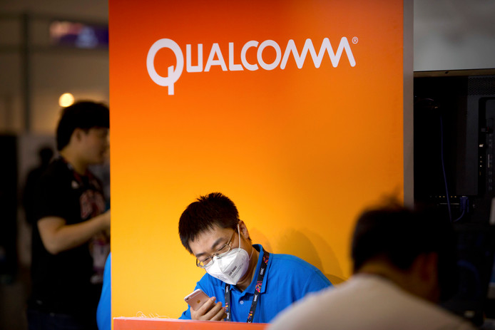 Qualcomm levert onder meer chips voor Apple's iPhone en iPad