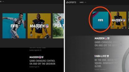 EA Sports verwijdert Cristiano Ronaldo van cover FIFA 19 op hun website