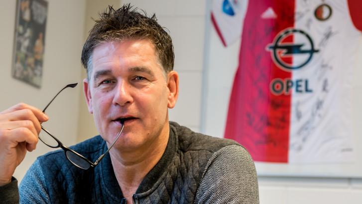 Joop Hiele kan niet kiezen bij Feyenoord-PSV: 'Je voelt die sfeer als dat luik open gaat'