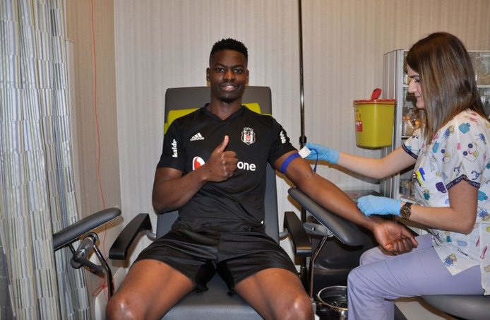 Besiktas is door zijn medische keuring bij Besiktas.