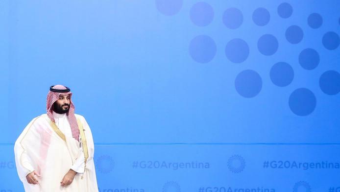 Le prince héritier d'Arabie saoudite lors du G20 à Buenos Aires.