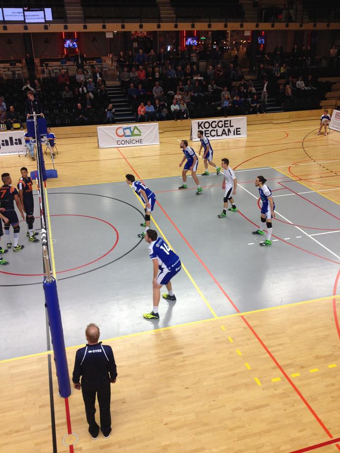 Archieffoto: Coniche/Topvolleybal tegen Papendal.