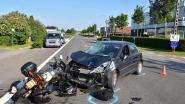Wéér ongeval met motorrijder op de Belgiek: slachtoffer zwaargewond