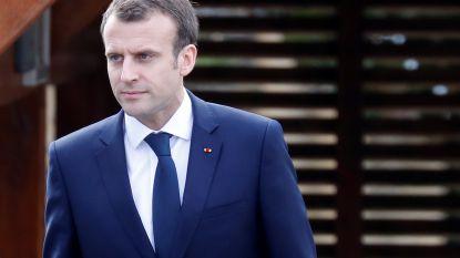 """Franse president Macron: """"Er is bewijs dat Syrisch regime achter chemische aanval zat"""""""
