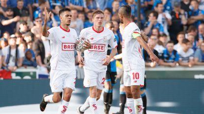 Spektakelmatch met acht goals: Standard haalt Club (een beetje) uit titelroes