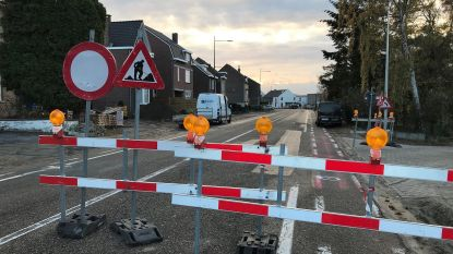 Herinrichting Smeermaas centrum: werken Maastrichterweg