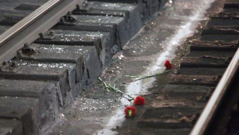 Bloemen ter nagedachtenis aan de slachtoffers van de aanslagen in Moskou. ANP Beeld