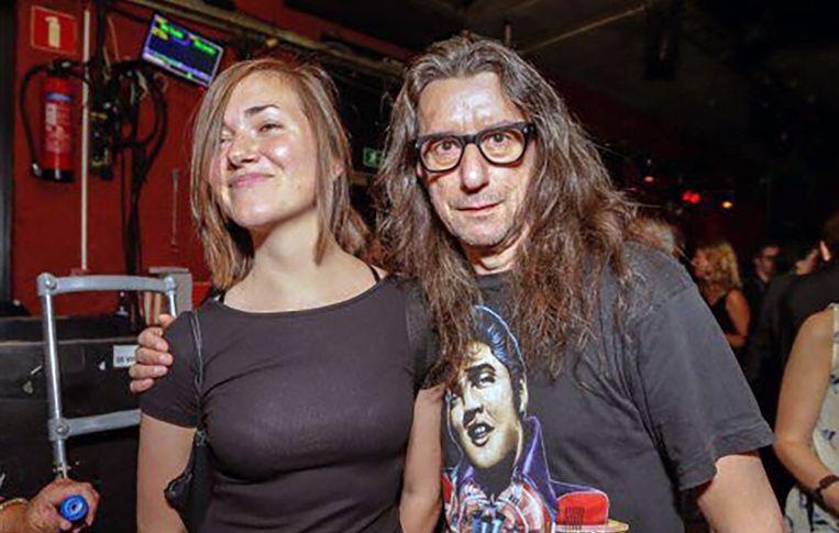 Herman Brusselmans en zijn vriendin Lena.