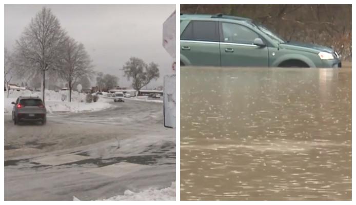 Bij ongelukken in de Verenigde Staten door sneeuwstormen, windstoten en zware regens zijn de voorbije dagen al zeker zes mensen omgekomen.