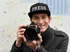 Nieuwsjager Justin Egberts gaat van ongeluk naar brand: 'Als het moet, kan ik helpen'