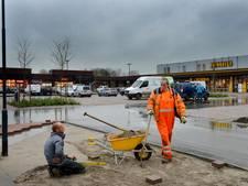 Drieslag open: Lienden heeft eindelijk zijn winkelcentrum