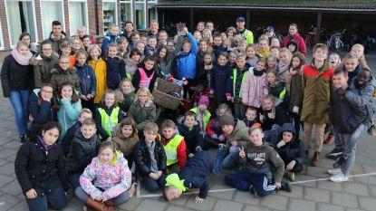 Leerlingen scoren goed tijdens fietsencontrole Politiezone Neteland